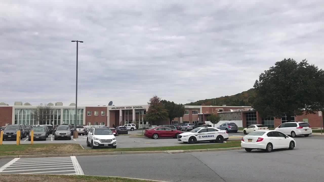 """Arlington High School was on lockdown for around one hour after a """"non-specific threat"""" was made, according to Superintendent Brendan Lyons."""