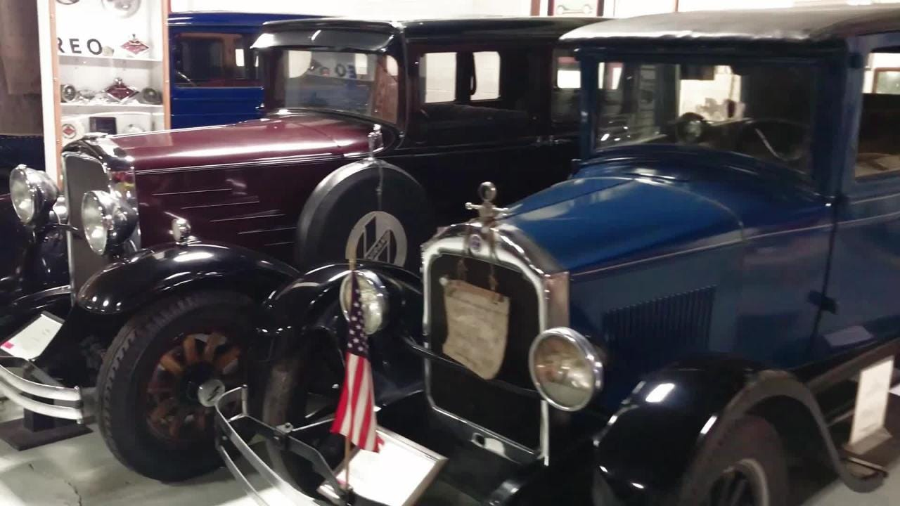 Take a spin around the R.E. Olds Transportation Museum in Lansing. Wall-to-wall classic cars and displays to satisfy any car enthusiast.