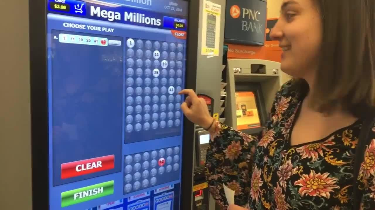 Here's how you use Delaware's new self-service lottery machines