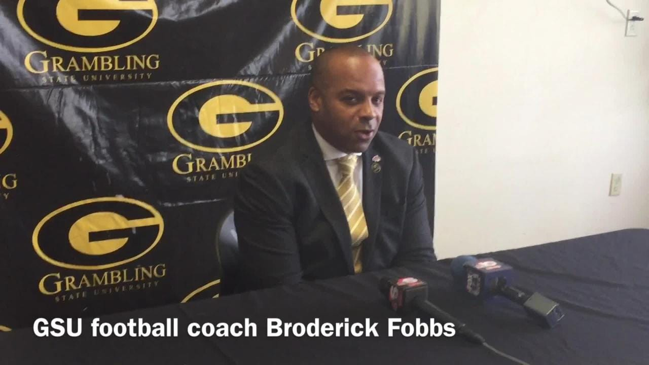 Grambling State head football coach Broderick Fobbs details what's been the biggest frustration this season.