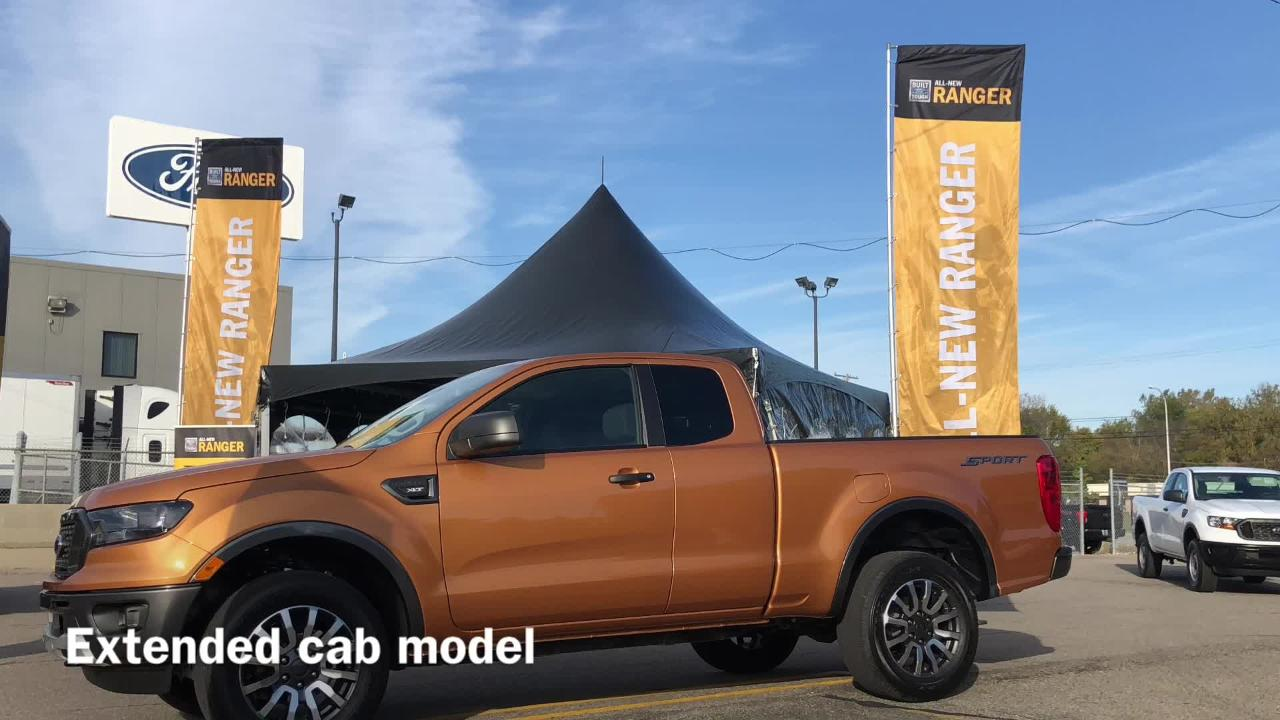 first ride 2019 ford ranger touts off road ability