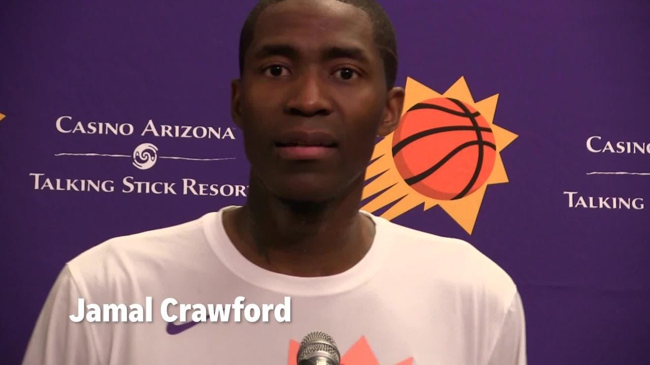edc6e8a47e6a Suns  Jamal Crawford and Tyson Chandler were former teammates on Bulls