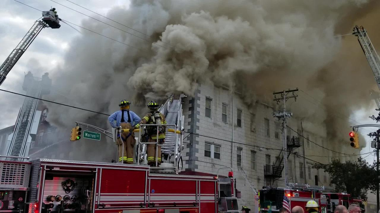 Video: Building collapses in massive Dover fire