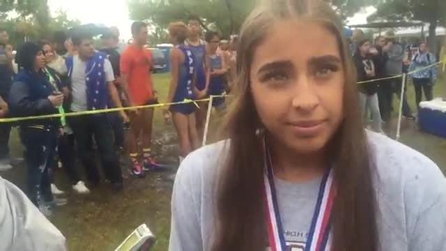Mountain View's Nicole Estrada is headed to the state cross country meet in Class 4A.