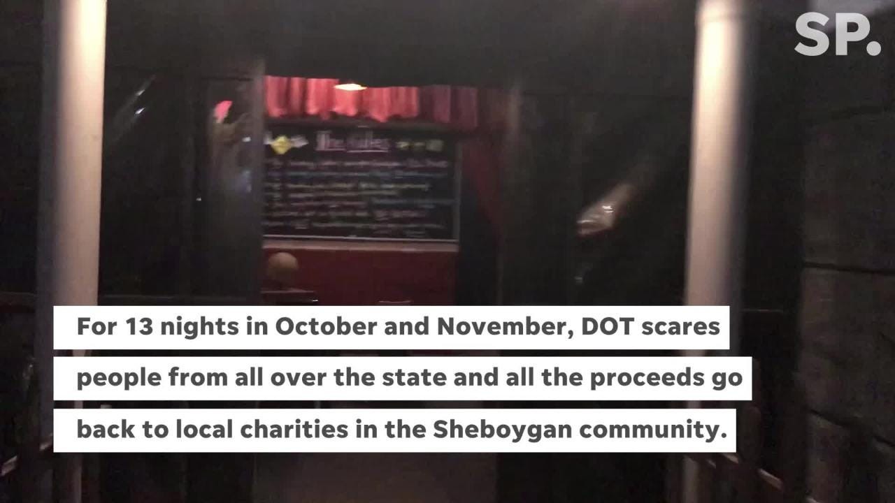 For over 40 years, the Sheboygan Jaycees have put together the Dominion of Terror Haunted House. It's their biggest fundraiser of the year.