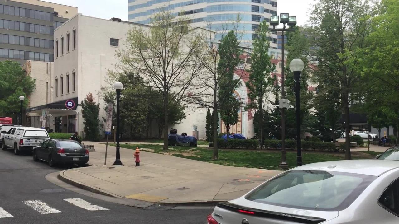 Church Street Park in downtown Nashville