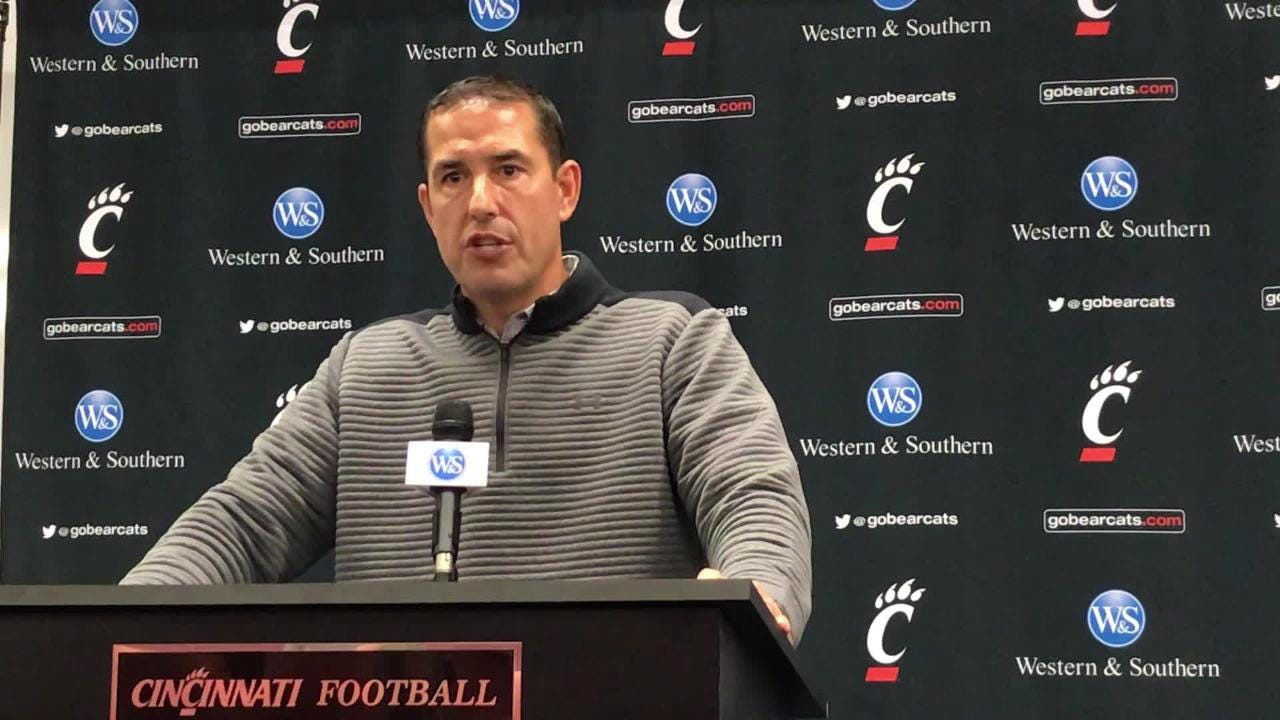 UC's Fickell looks ahead to SMU: 'Very upbeat, but we've got a long way to go'