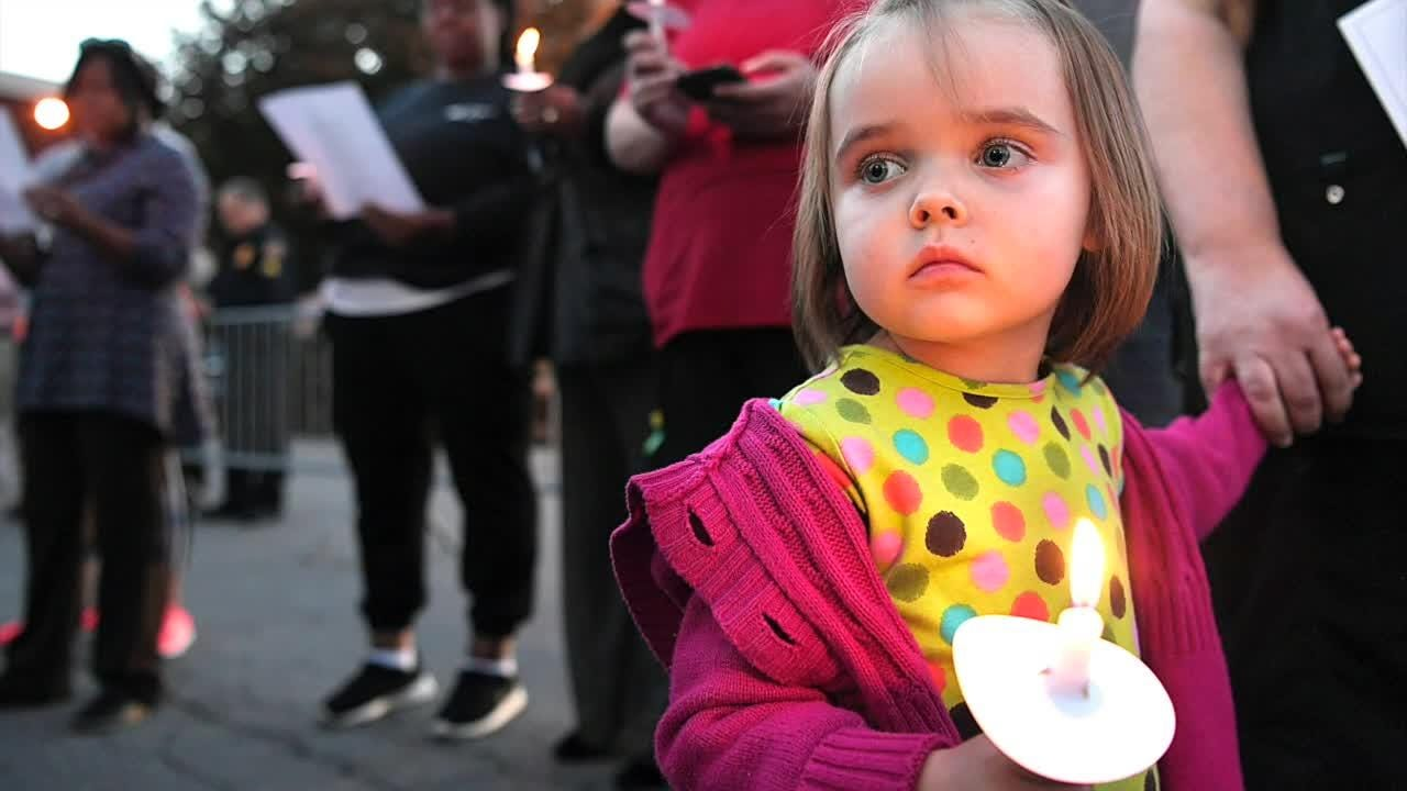Mourners gathered in Columbia on Tuesday for a prayer vigil for family and surviving members of an apparent murder-suicide that involved a mother and four of her children.