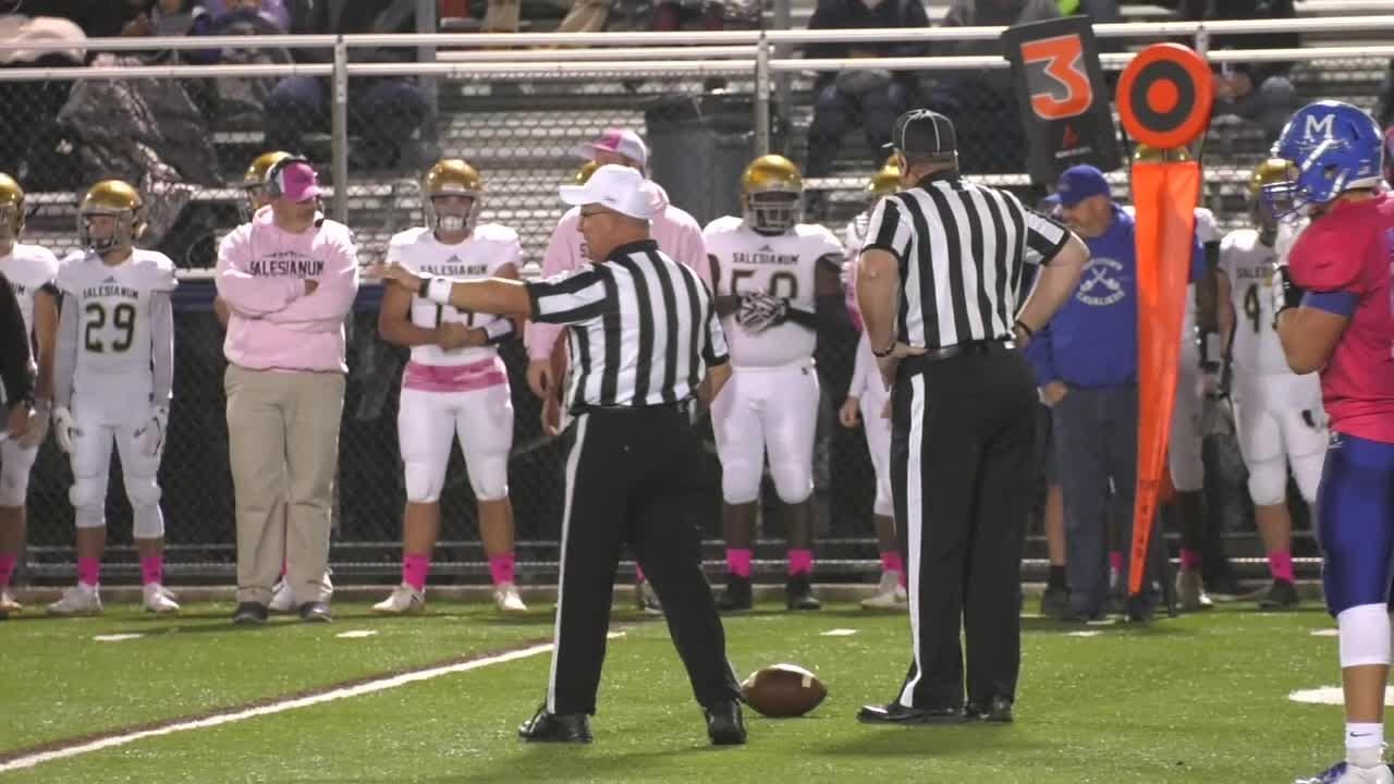 Mic'd Up: Delaware football official follows in family tradition