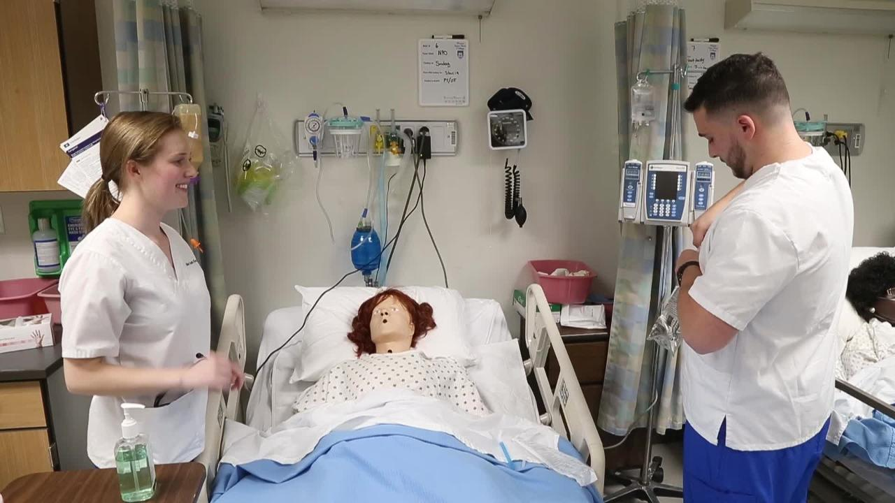 Video: Nursing Students see bright future