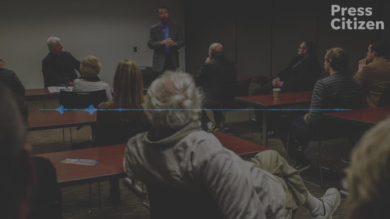Hear audio from a U.S. Term Limits event on Thursday, Oct. 18, 2018 with Iowa second congressional district candidate Christopher Peters.