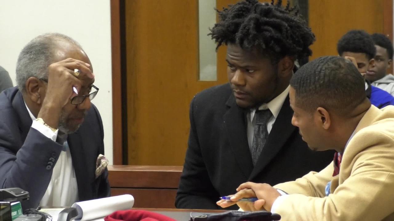 Watch: Kemari Averett appears in court, attorney speaks on gun charges