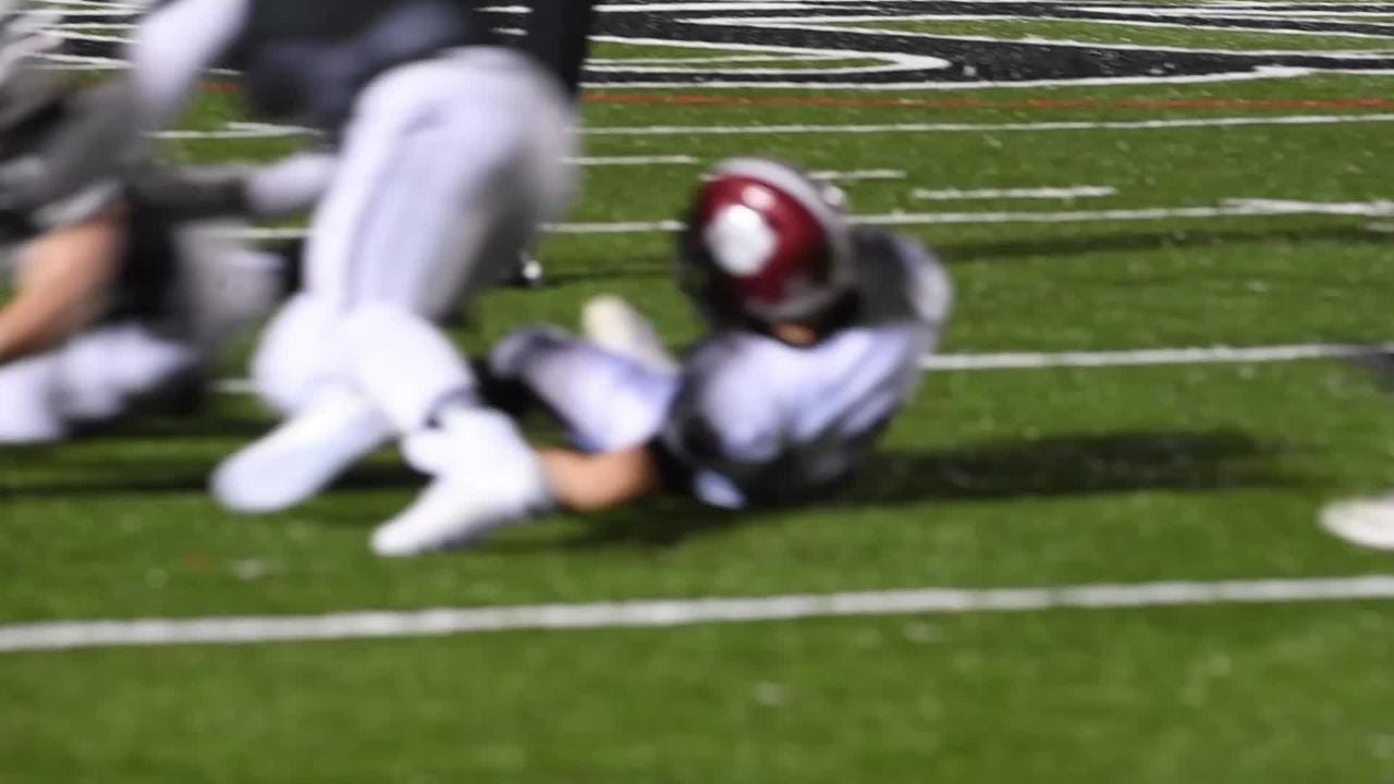North Buncombe hosted Asheville in their final game of the regular season on Oct. 25, 2018. The Cougars defeated the Blackhawks 28-19.