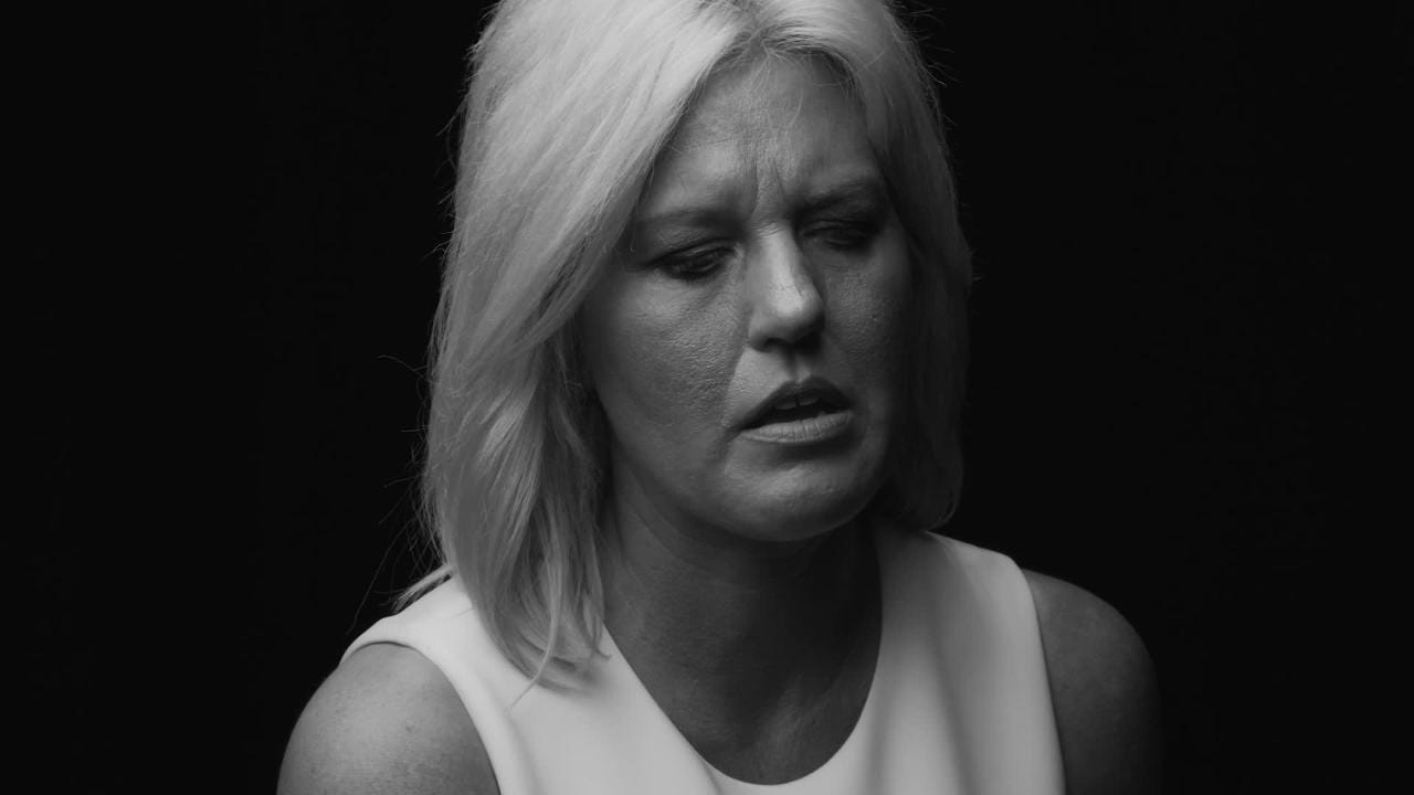 Photographer Randy Bacon made 17 short films for It Knows No Face. The project highlights stories of suicide survivors. This is Stephanie Appleby's.