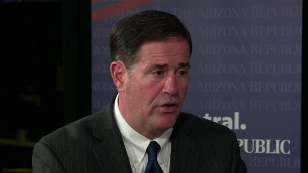 Gov. Doug Ducey on pre-existing conditions