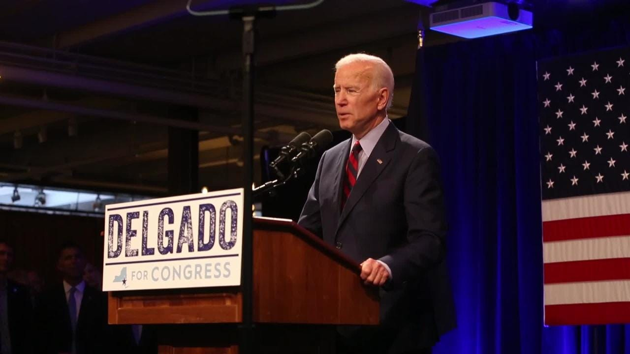 Video: Joe Biden stumps for Antonio Delgado
