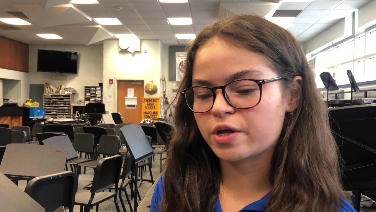 Elena Perez, a Lyndhurst HS senior and a student political activist shares her views