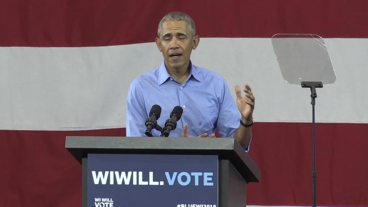 Obama on good things going on in Wisconsin