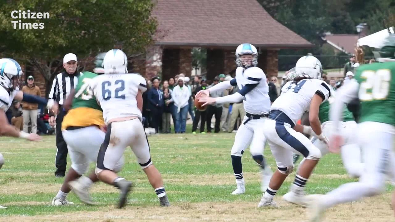 """Christ School and Asheville School faced off in the 92nd meeting of """"The Game,"""" their annual rivalry football game on Oct. 27, 2018."""