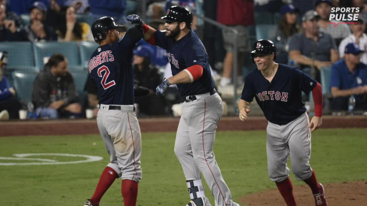 World Series: Red Sox rally to stun Dodgers in Game 4, on brink of title