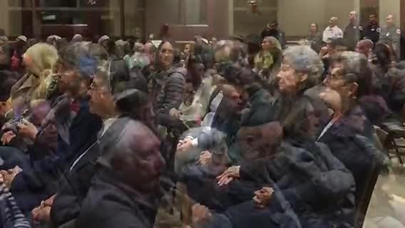 South Jersey residents gather at a Voorhees synagogue to honor victims of an anti-Semitic attack in Pittsburgh