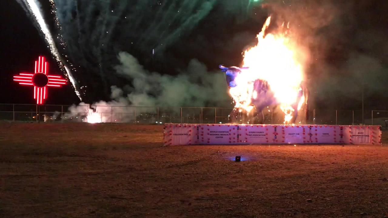 Burning of the Bull 2018