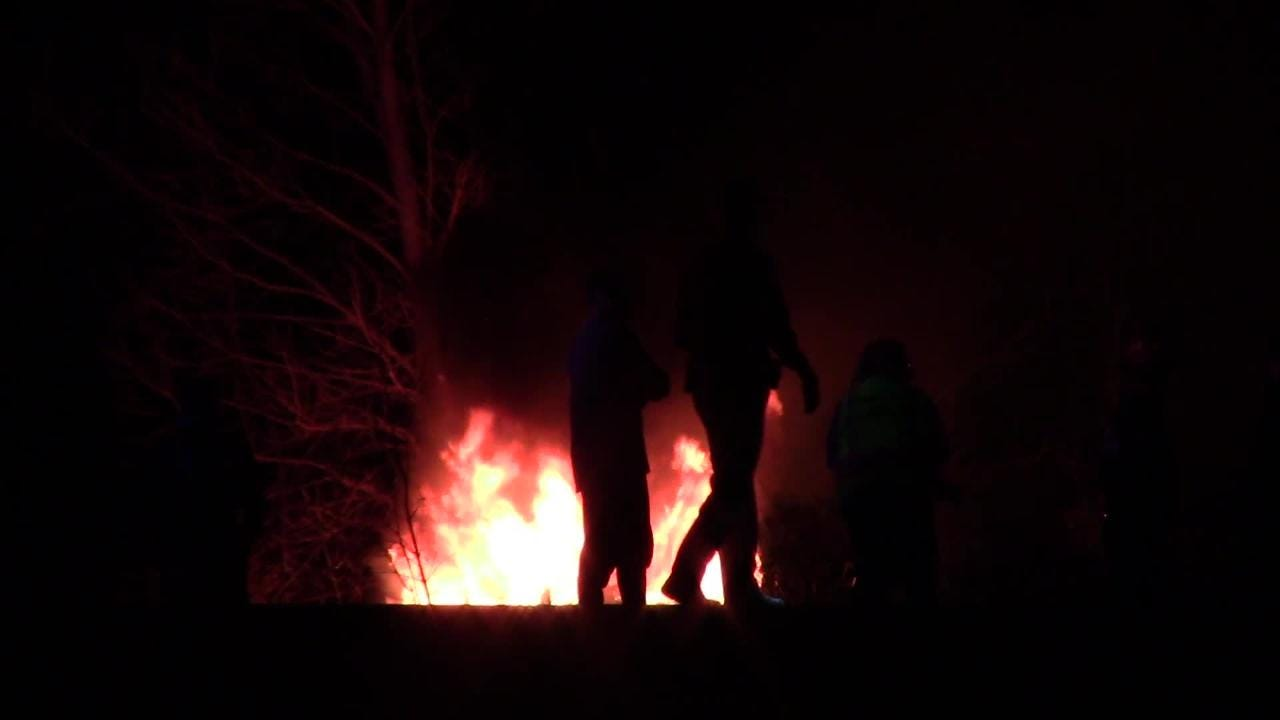 A single vehicle crash and fire claimed the life of the driver at the intersection of Fond du Lac County I and State Road 23.