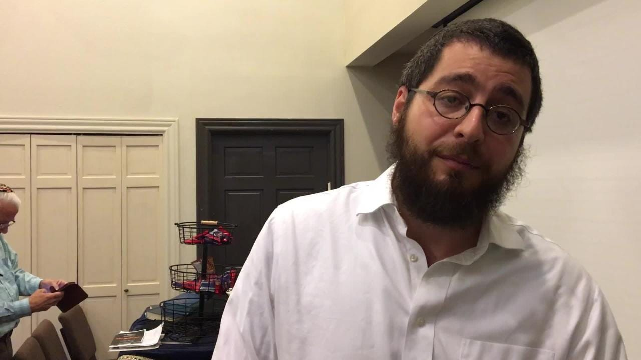 A memorial service was held Monday October 29, 2018, at Chabad Jewish Center of Las Cruces to honor those who lost their lives in Saturday's attack on the Tree of Life Synagogue in Pittsburgh.