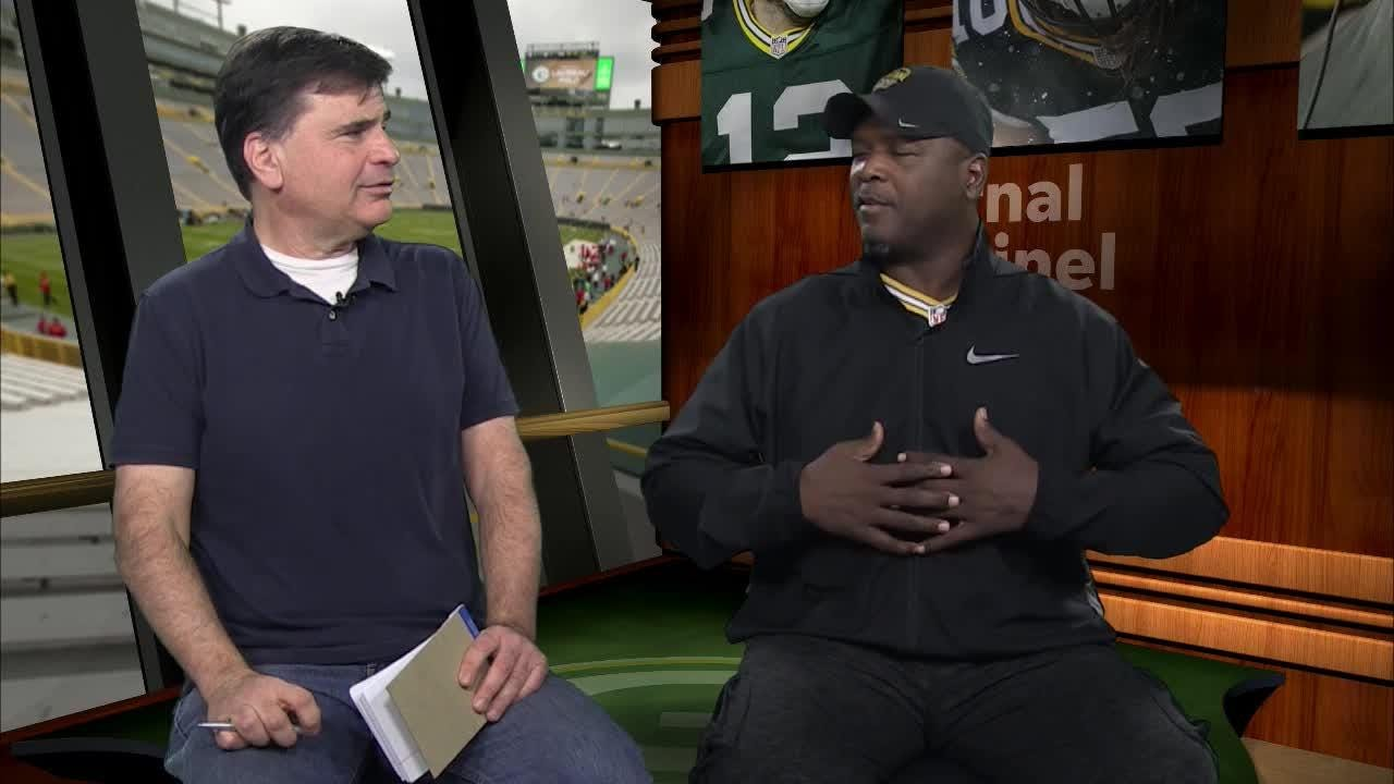 Former Packers all-pro safety LeRoy Butler and reporter Tom Silverstein discuss the aftermath of Ty Montgomery fumble and the upcoming game with the Patriots.