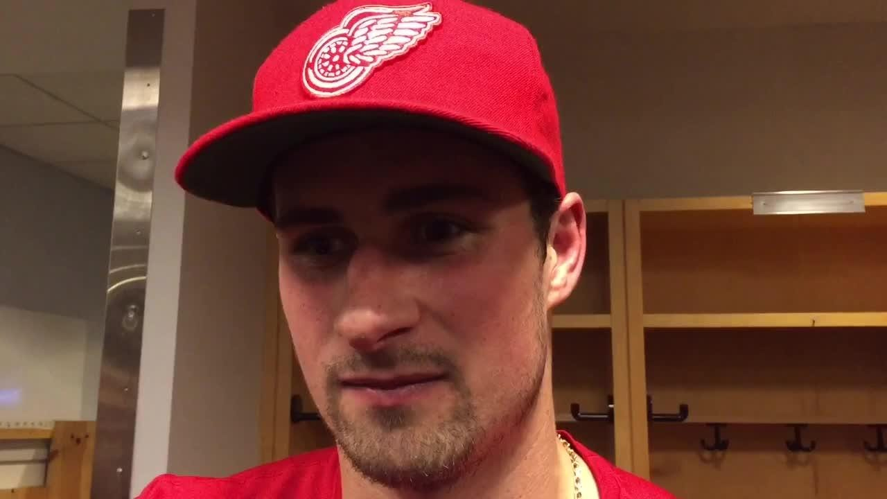 Why Dylan Larkin is such a key rebuilding block for the Detroit Red Wings. Filmed Oct. 30, 2018 in Columbus, Ohio.
