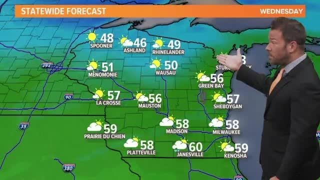 Watch today's forecast from meteorologist Sven Sundgaard.