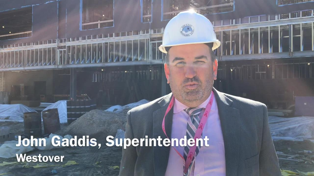 John Gaddis, superintendent of Somerset County Public Schools, discusses the school system's new technical high school.