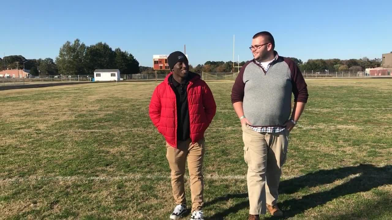 """In this episode of """"100 yards"""" Delmarva Now reporter Ricky Pollitt talks with Washington High senior Keionte Nutter."""
