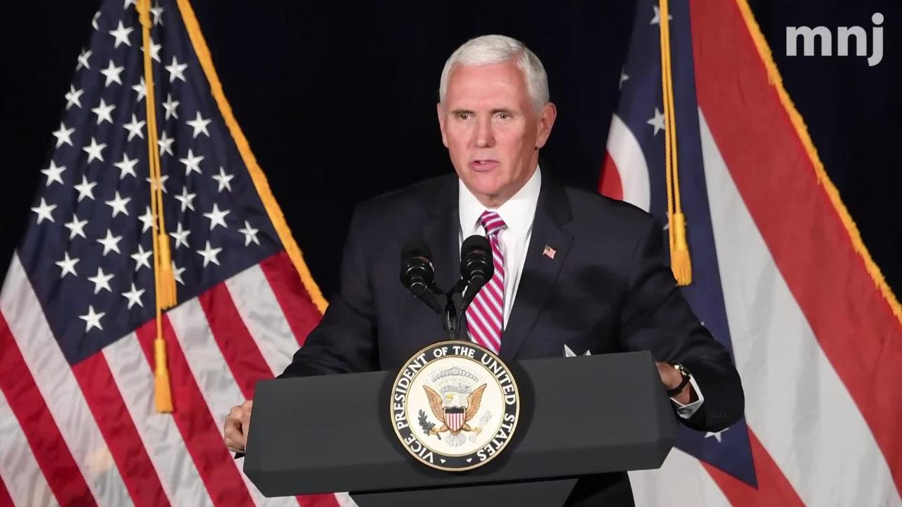 Pence in Mansfield