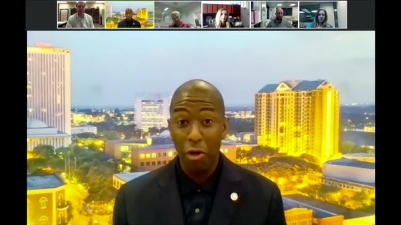 Replay: Gubernatorial candidate Andrew Gillum goes live with USA TODAY  Florida Network