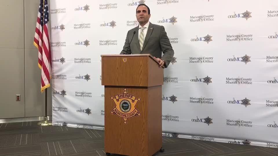 Sheriff Penzone addressing Monday's officer involved shooting