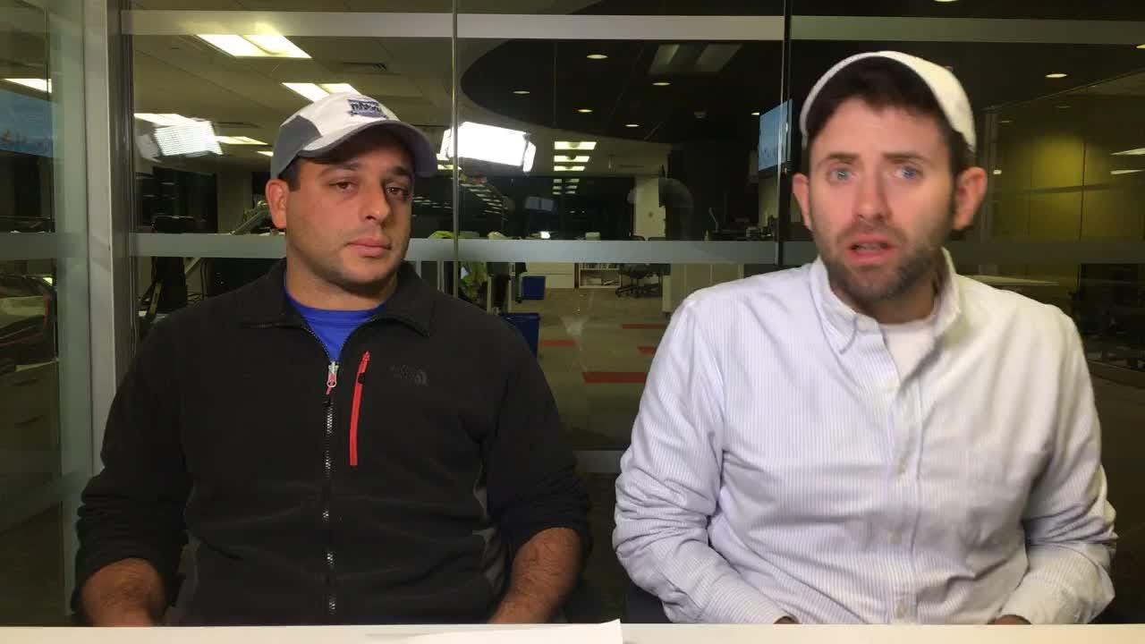 Sports writers Austin Danforth and Alex Abrami talk semifinal winners and losers from this week's action.