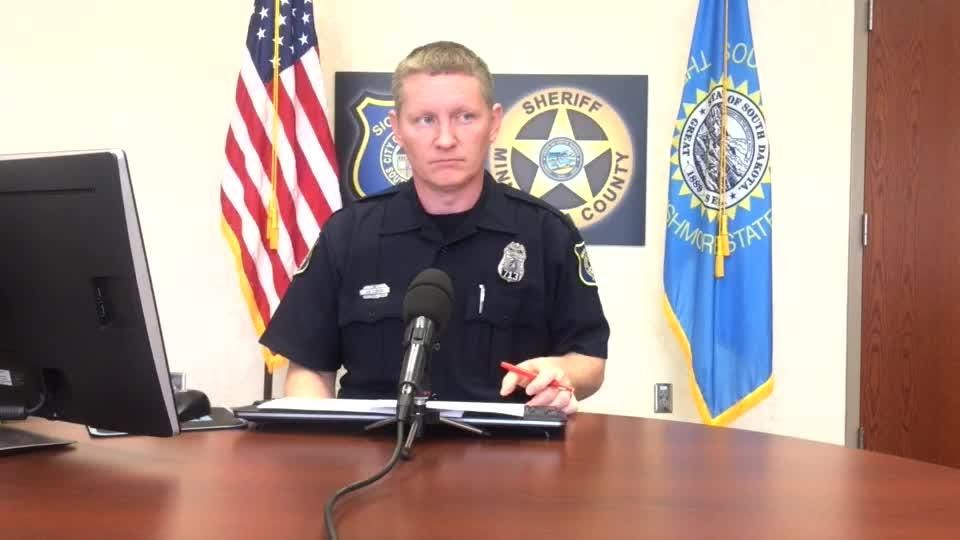Police spokesman Sam Clemens provides an update on the daily call log Wednesday.
