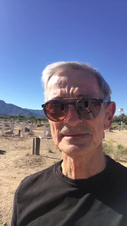 This cemetery is columnist EJ Montini's favorite place in Arizona. It's quiet, haphazard and makes him glad to live here, he says.