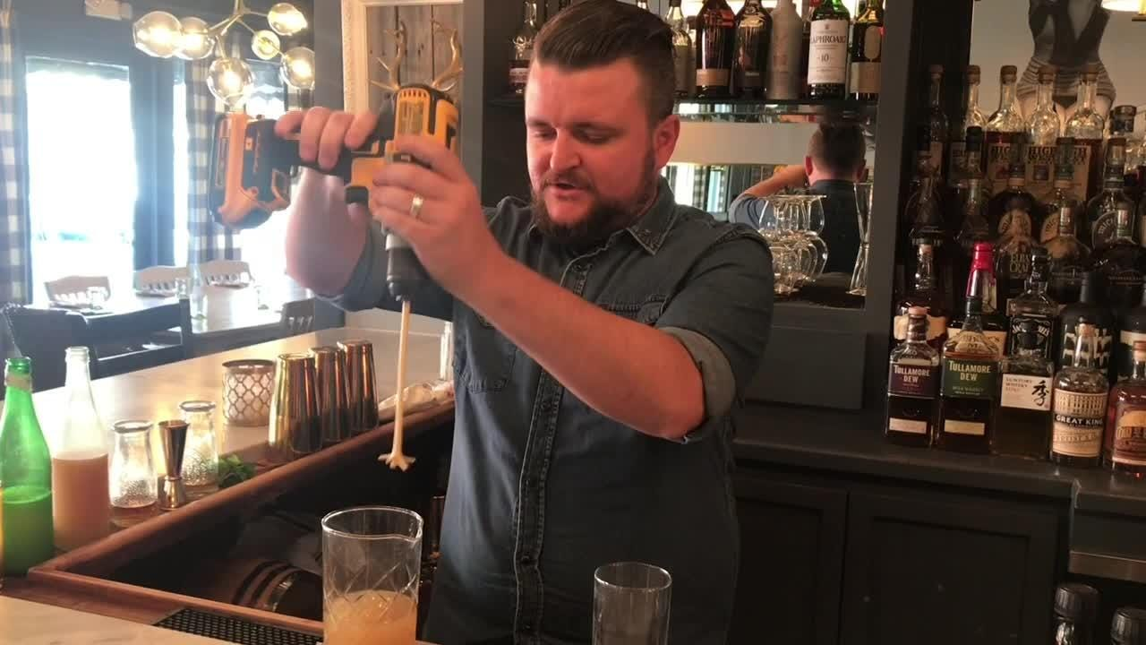 Greg Schutt, bar manager at Crush XI in downtown Melbourne, recently one the East Coast division of the Chairman's Mai Tai Challenge.