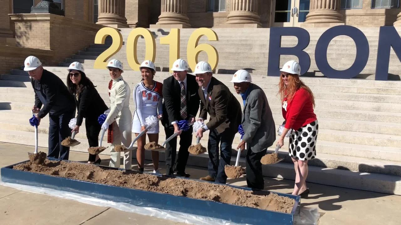 Groovy Episd Breaks Ground On El Paso High Bond Projects Caraccident5 Cool Chair Designs And Ideas Caraccident5Info