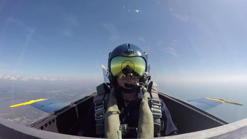 Blue Angels flight - go behind the scenes and inside the cockpit with PNJ photojournalist Gregg Pachkowski.