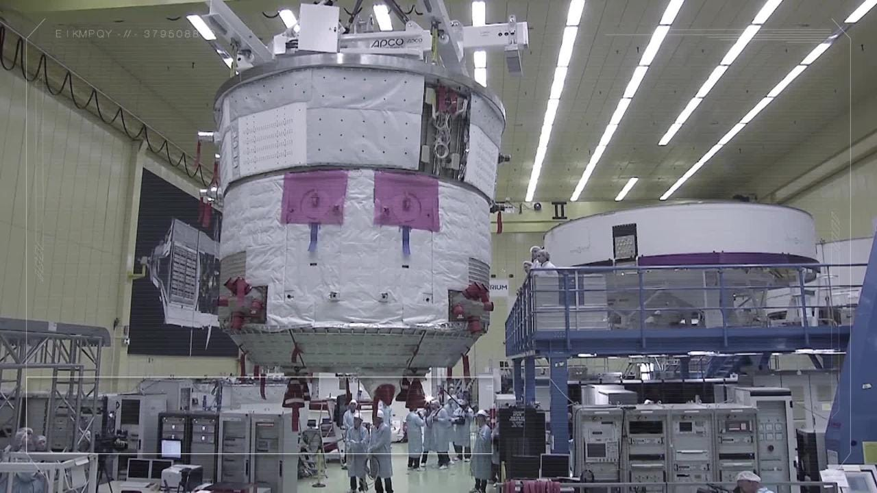 More on Orion's European Service Module, which is slated to arrive in Florida in November.