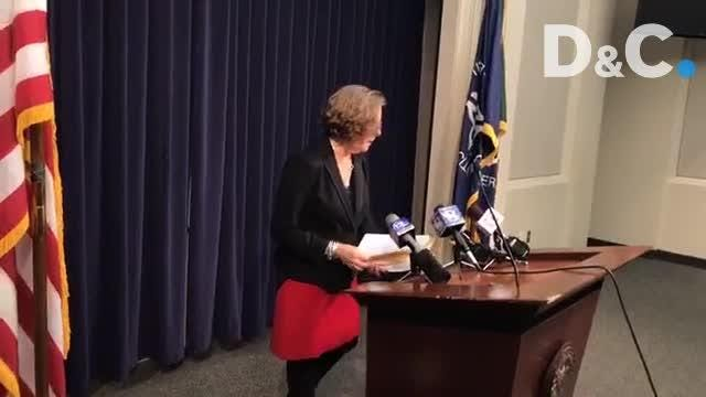 Monroe County District Attorney Sandra Doorley explains indictment against a Rochester officer