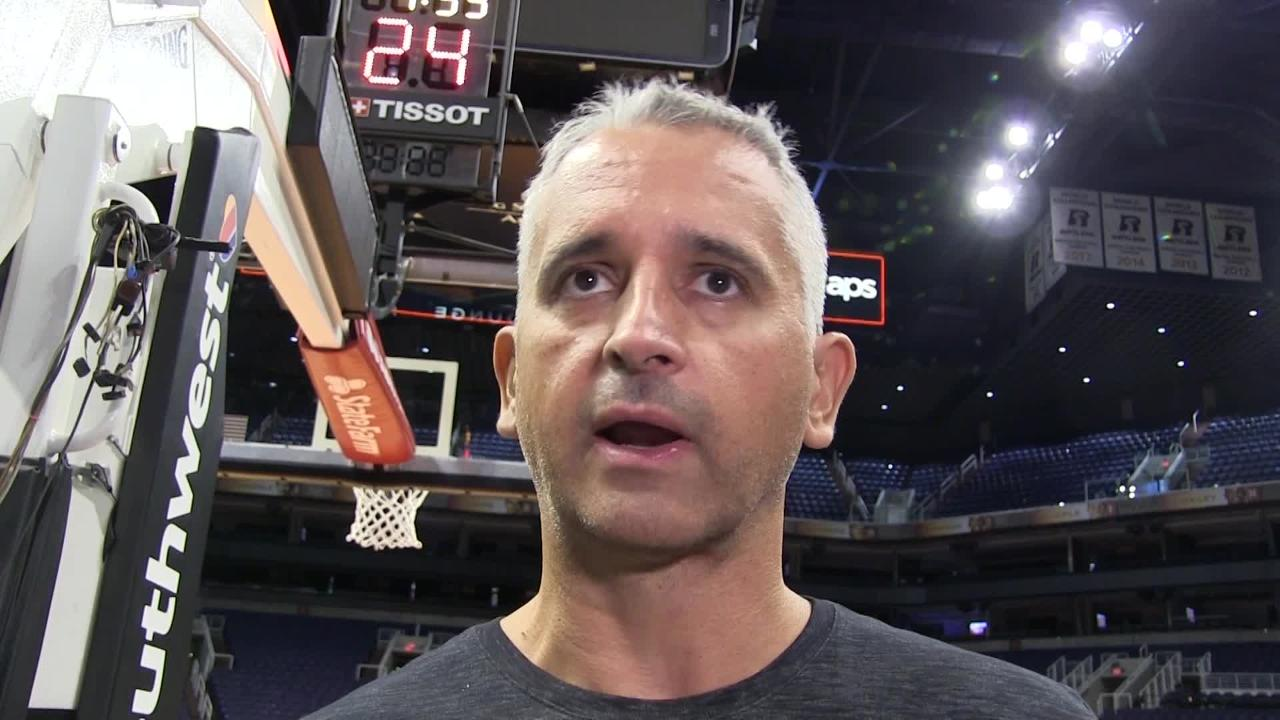 Phoenix Suns franchise player Devin Booker and head coach Igor Kokoskov discuss impact of Booker's absence due to injury this season.