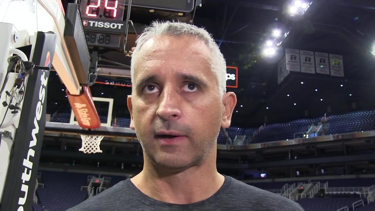 Phoenix Suns' first-year coach Igor Kokoskov explains how practice has changed over time.