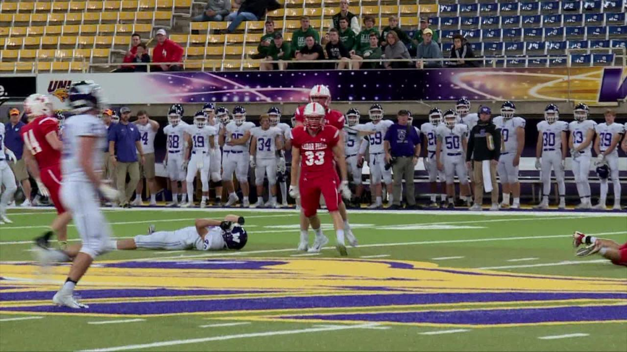 WHO-HD Highlights: Cedar Falls 40, Waukee 7