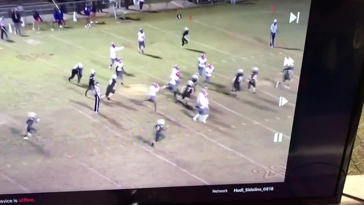 Devon Witherspoon and Dacarrion McWilliams combine for one of the greatest plays of the season.