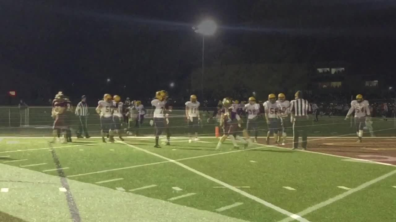 Hagerstown falls to Lutheran in 2018 football sectional