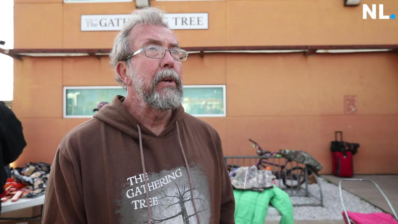 Ron Duncan, a long time volunteer at the Gathering Tree, talks about the drop-in center's closing